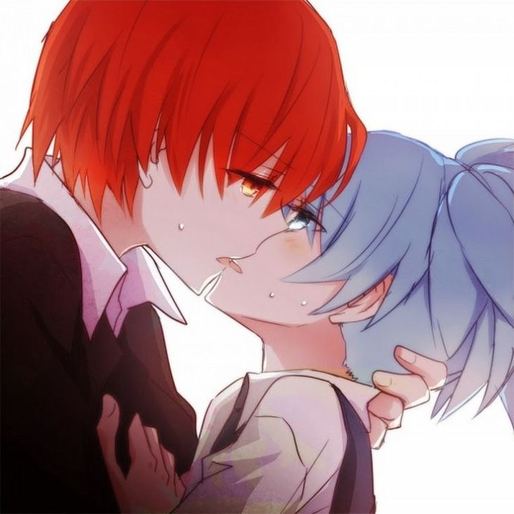 dda7fa0d9b5efd126a886f8aba0a8a7e--anime-couples-baby