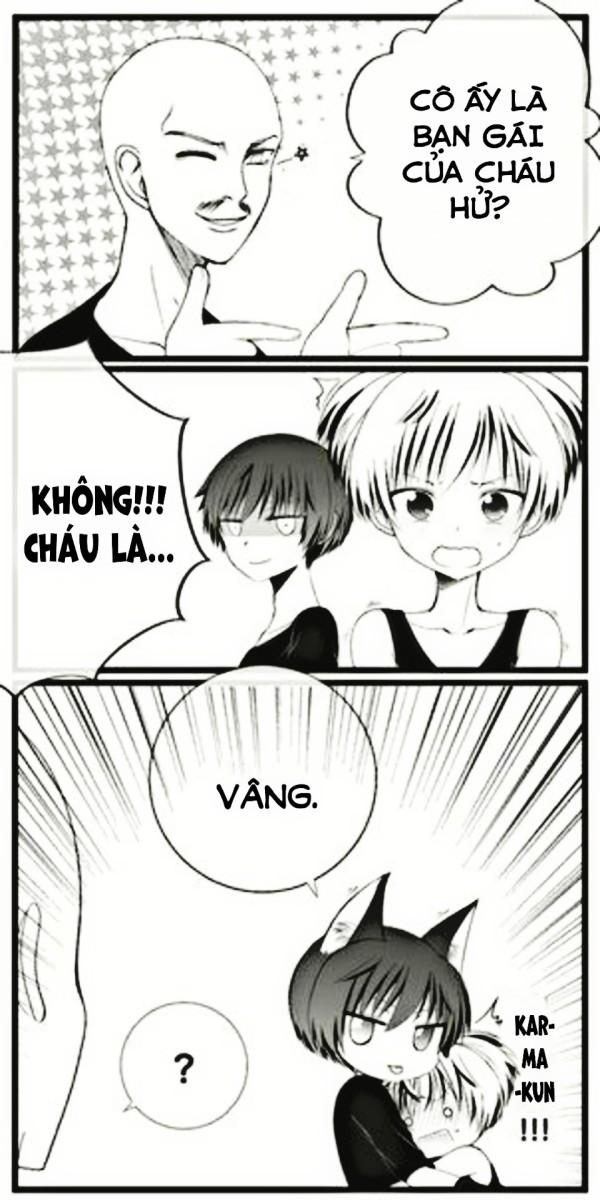 [Ansatsu Kyoushitsu short doujinshi] Karma x Nagisa – 19